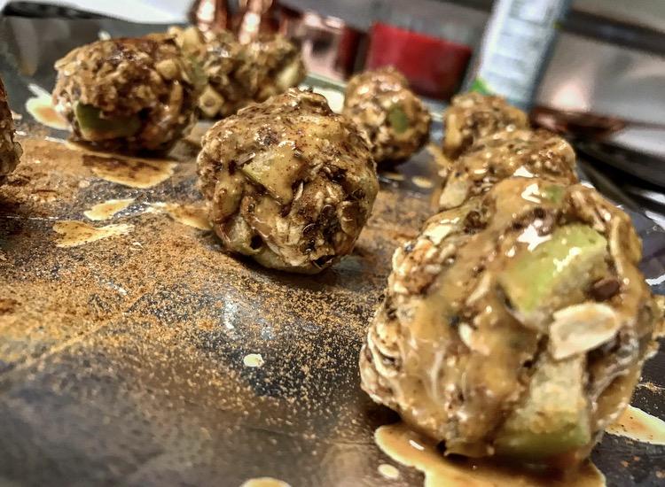 apple cinnamon protein balls gluten free recipes