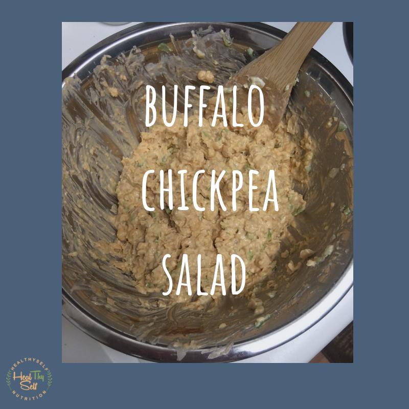 buffalo chickpea salad gluten free recipes